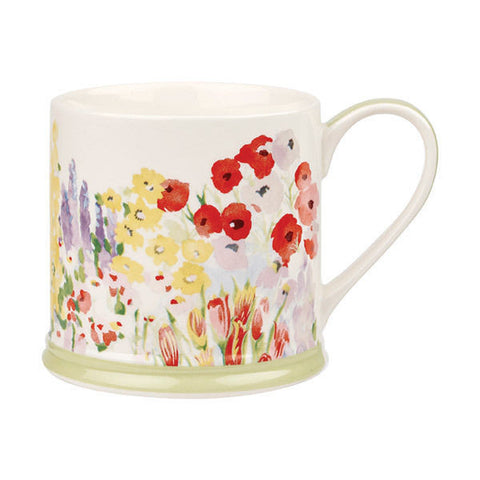 Churchill China Collier Campbell Painted Garden Mug 0.30L