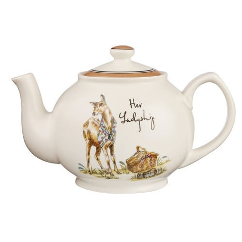 Churchill China Country Pursuits Teapot 0.85L