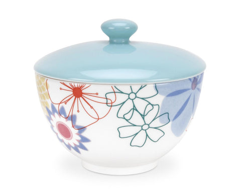 Portmeirion Crazy Daisy Sugar Bowl 0.30L