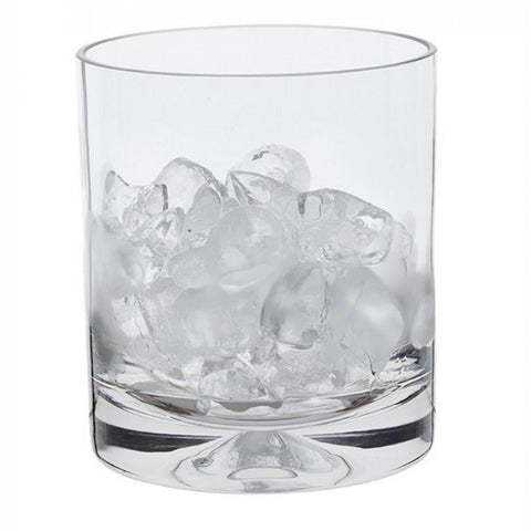 Dartington Crystal Dimple Ice Bucket 14cm x 12.8cm + Tongs