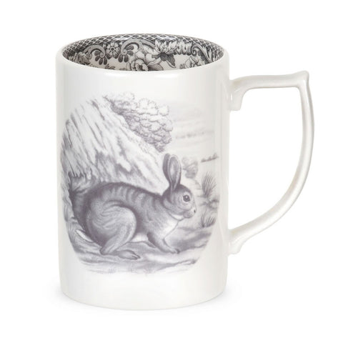Spode Delamere Rural Rabbit Mug 0.35L (Set of 4)