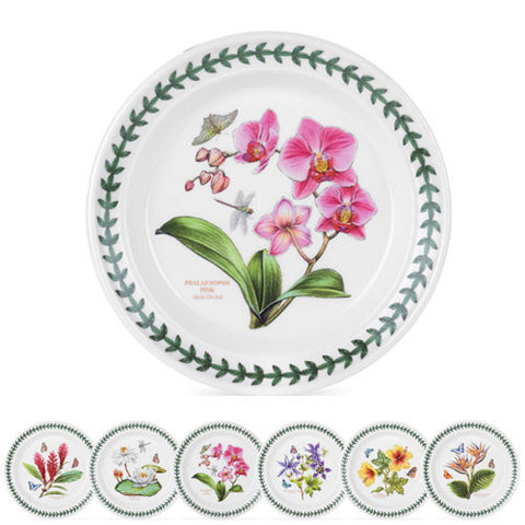 Portmeirion Exotic Botanic Garden Tea Plate 15cm - Set of 6