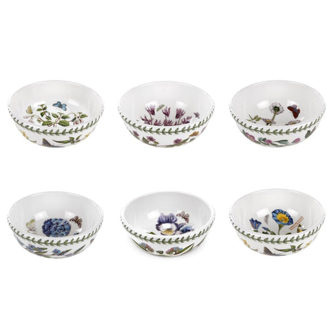 Portmeirion Exotic Botanic Garden Salad Bowl 14cm - Set of 6