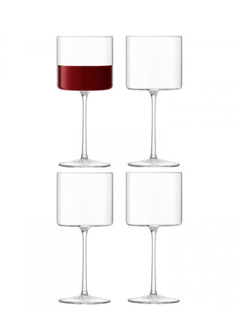 LSA Otis Red Wine Glass 0.31L (Set of 4)