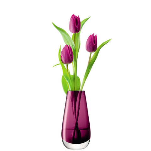 LSA Flower Colour Heather Vase 14cm