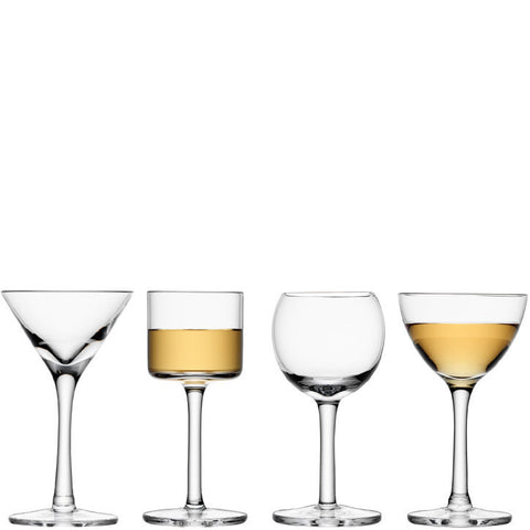 LSA Lulu Clear Sherry Glasses 0.06L (Set of 4)