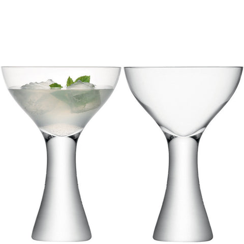 LSA Elina Clear Cocktail Glass Pair 350ml