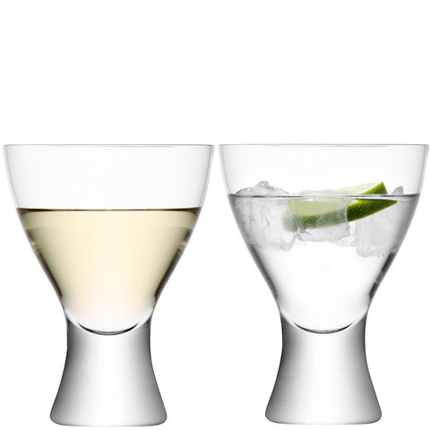LSA Elina Clear Wine Glass Pair 400ml