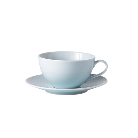 Royal Doulton Gordon Ramsay Maze Blue Breakfast Cup and Saucer