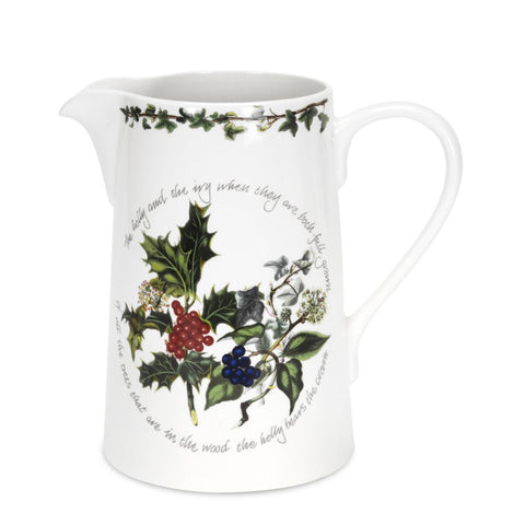 Portmeirion Holly and Ivy Bella Jug 1.7L
