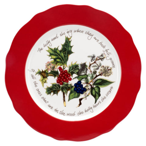 Portmeirion Holly And Ivy  Charger Plate 33cm