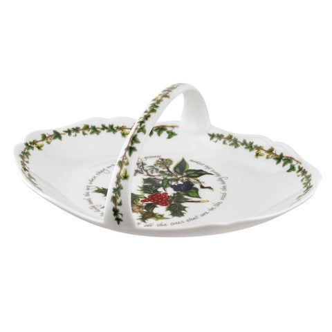 Portmeirion Holly And Ivy Bread Basket 33cm