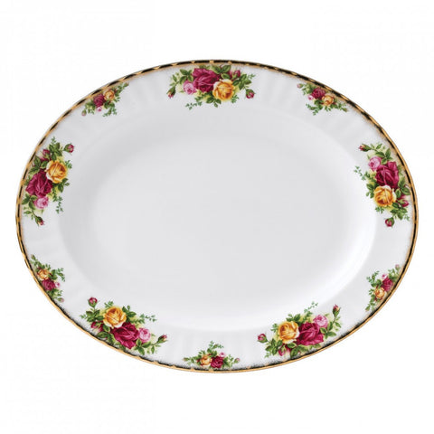 Royal Albert Old Country Roses Oval Dish 33cm
