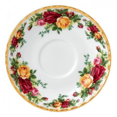 Royal Albert Old Country Roses Soup Saucer 16cm (Saucer Only)