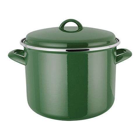 Judge Induction Green Stock Pot 24cm