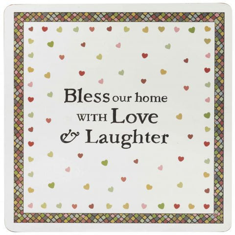 Churchill China Julie Dodsworth Bless Our Home Set of 4 Placemats 29cm