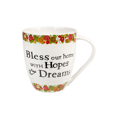 Churchill China Julie Dodsworth Hopes and Dreams Mug 0.50L