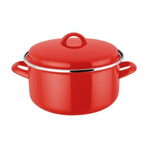 Judge Induction Red Casserole 4.0L