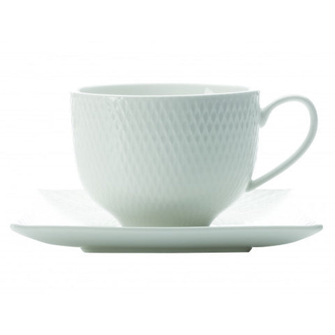 Maxwell and Williams Diamonds Teacup and Saucer 0.20L