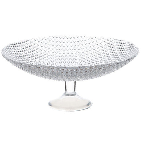 Maxwell and Williams Diamante Footed Bowl 31cm