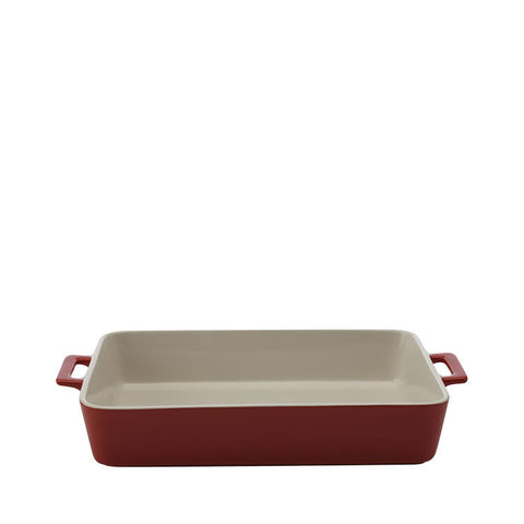 Maxwell and Williams Chef du Monde Red Lasagne Dish 36cm by 24.5cm by 7.5cm