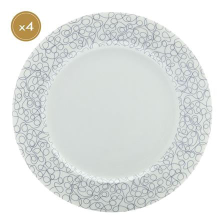 Maxwell and Williams Indigo Free Dinner Plate 27.5cm