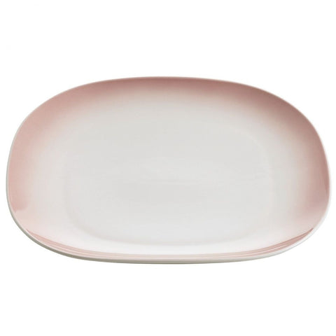 Maxwell and Williams Bisou Pink Dinner Plate 30cm by 26cm