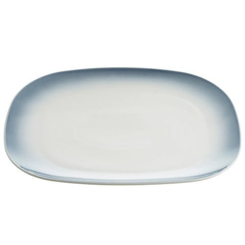 Maxwell and Williams Bisou Grey Rectangular Platter 37.5cm by 28cm