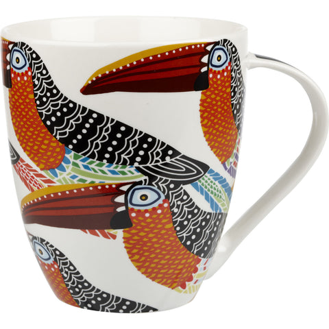 Churchill China Paradise Toucans Crush Mug 0.50L