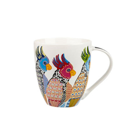 Churchill China Paradise Parakeets Crush Mug 0.50L