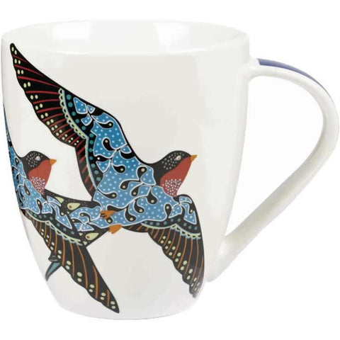 Churchill China Paradise Swallow Crush Mug 500ml