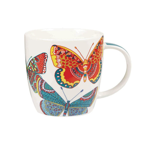 Churchill China Paradise Butterflies Squash Mug 0.39L