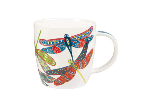 Churchill China Paradise Dragonflies Squash Mug 0.39L
