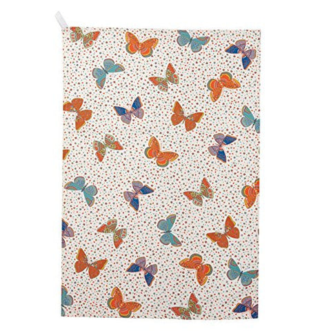 Churchill China Paradise Butterflies Tea Towel