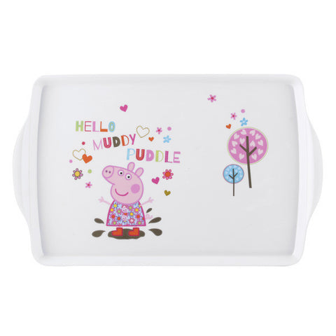 Portmeirion Peppa Pig Melamine Tray 38cm by 24cm