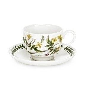 Portmeirion Botanic Garden Breakfast Cup And Saucer 2 10oz