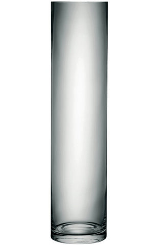 LSA Column Clear Vase 100cm by 24cm