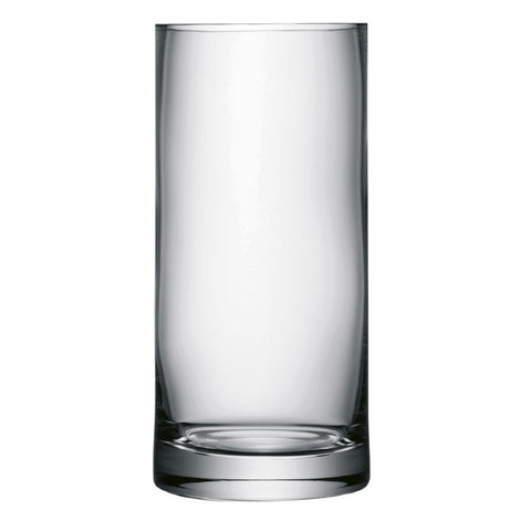 LSA Column Clear Vase 28cm by 13cm