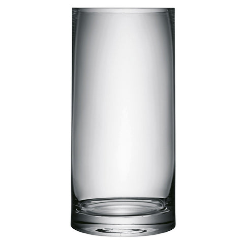 LSA Column Clear Vase 36cm by 17cm