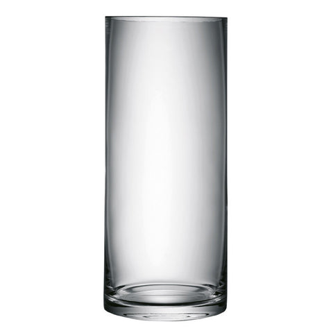 LSA Column Clear Vase 42cm by 18cm