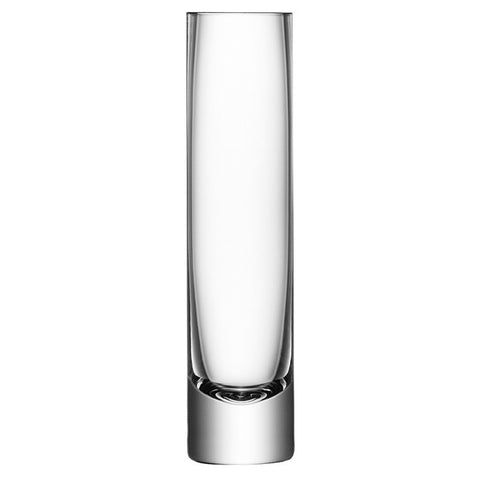 LSA Column Clear Vase 25cm by 6cm