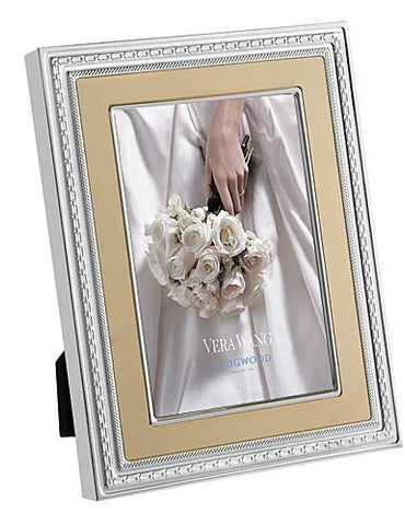 Wedgwood Vera Wang With Love Gold Photo Frame 12.5cm by 17.5cm