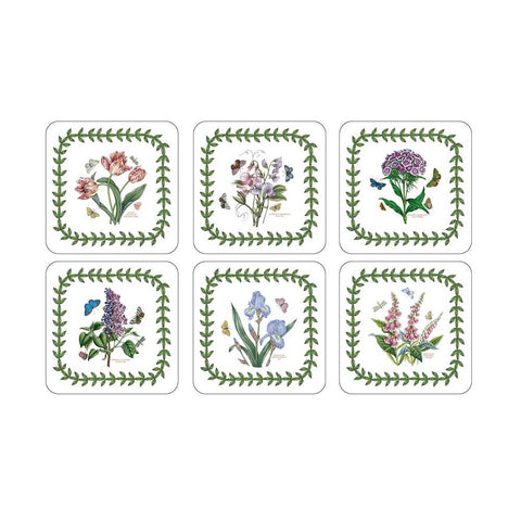 Portmeirion Botanic Garden Coasters 10.5cm (Set of 6)