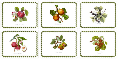 Portmeirion Pomona Placemats 30.5cm by 23cm (Set of 6)