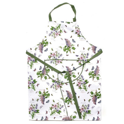 Portmeirion Botanic Garden Cotton Drill Apron 70cm by 95cm