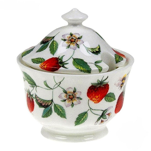 Roy Kirkham Alpine Strawberry Covered Sugar Bowl 200ml