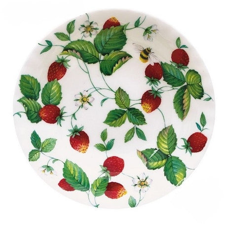 Roy Kirkham Alpine Strawberry Cereal Bowl