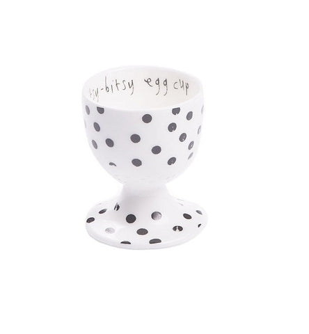 Roy Kirkham Lisa Stickley Egg Cup - Charcoal