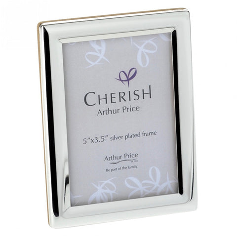 Arthur Price Cherish Oxford Photo Frame 3.5inch by 5 inch