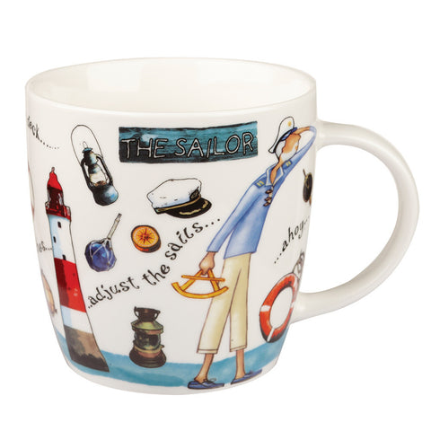 Churchill China At Your Leisure The Sailor Mug 0.40L